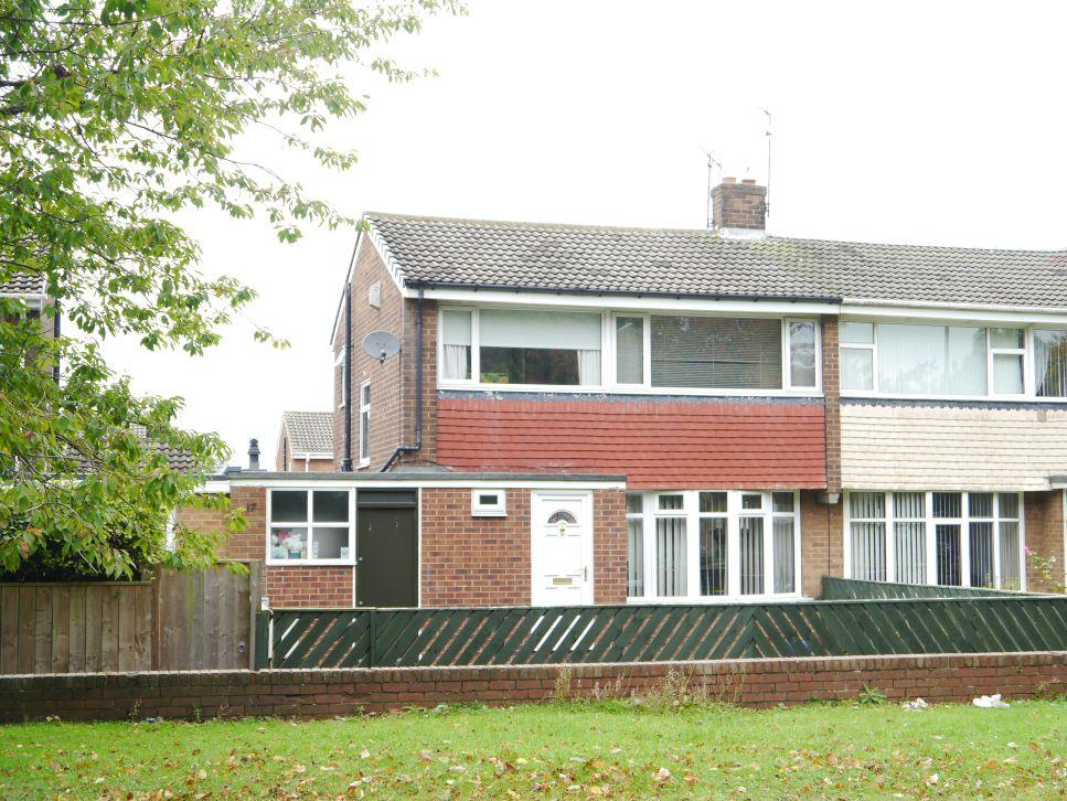 3 Bedrooms Semi Detached House for sale in Deneside, Whorlton Grange